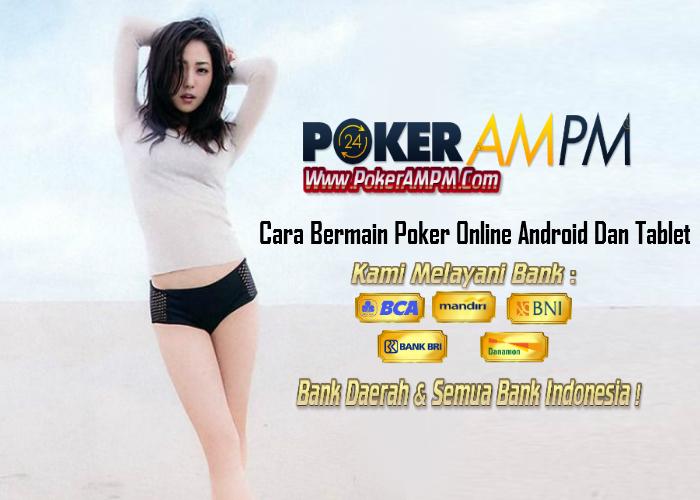 Cara main poker di fb lewat hp